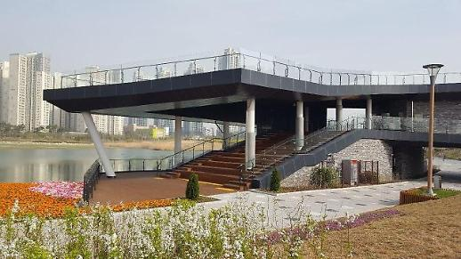 청라호수공원 레이크하우스 전망데크 , 4월25일 개방