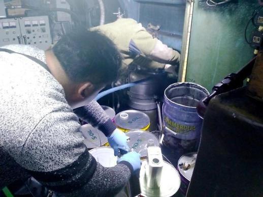 인천해양경찰서, 해상용 불법기름 사용한 선주 6명 입건