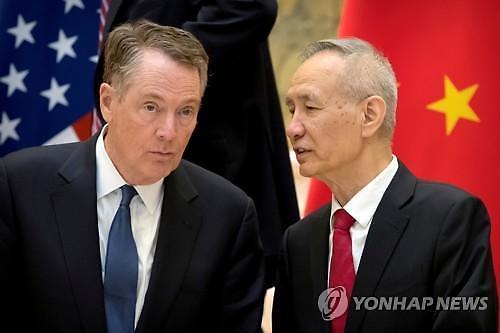 미·중 고위급 무역협상, 30일 베이징서 재개