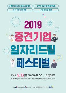 중견련, '중견기업 일자리 드림 페스티벌' 개최
