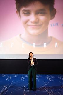 [포토] 추상미 영화 가버나움 통해 전 세계 고통받는 어린이들의 삶 알려지길