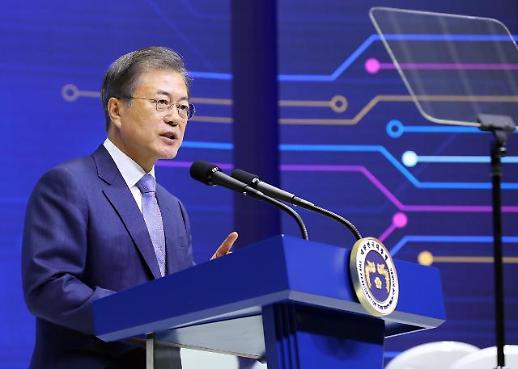 [전문] 文대통령 파운드리 1위, 팹리스 점유율 10% 목표