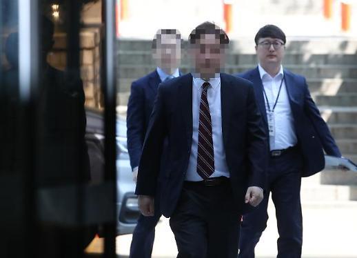 [영상] 결국 구속…'삼바 증거인멸 지시' 삼성전자 상무 2명 법원출석 현장