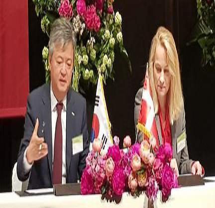 무보, 덴마크수출신용기관과 양국 공동 프로젝트 재보험 협약