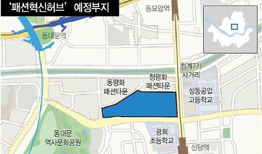 서울 패션혁신허브 조성 늦어져...부지 사용 협의가 관건
