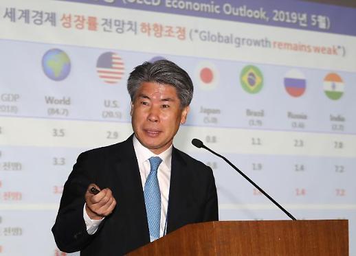 [글로벌 금융 심포지엄] 윤종원 청와대 경제수석 불투명한 금융감독 전면 개선할 것