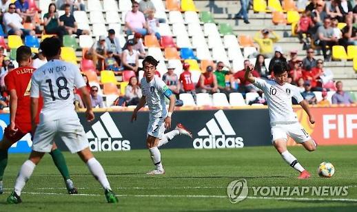 [U20 월드컵] 한국, 우승후보 포르투갈에 '졌잘싸'…16강 위한 '최상의 패배'