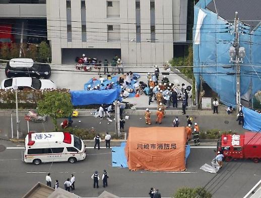일본 흉기 난동, 죄없는 2명 사망…용의자는 스스로 목숨 끊어