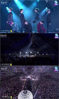 """""""동시접속 14만명""""...네이버 브이라이브, BTS 웸블리 스타디움 공연 생중계 성료"""