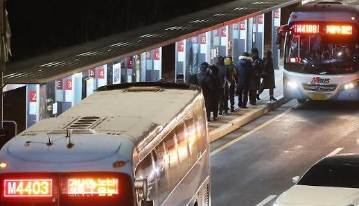 서울시, 빅데이터로 새벽출근 근로자 쉴자리 만든다…4개 노선 버스 배차조정