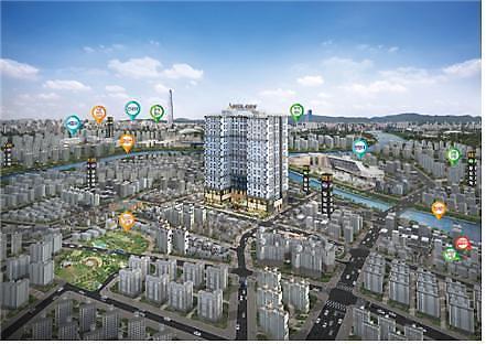 해나루산업개발, 답십리역 한성 아펠시티 상업시설 분양