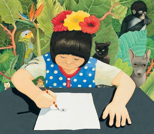 어린이 책의 노벨상 받은 '앤서니 브라운의 행복극장展'