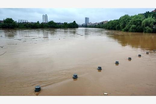 [중국포토] 남부지역 폭우 물난리...61명 사망