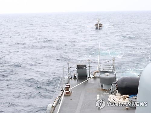 북한 어선 1척 동해 NLL 넘어 표류… 관계당국 조사중