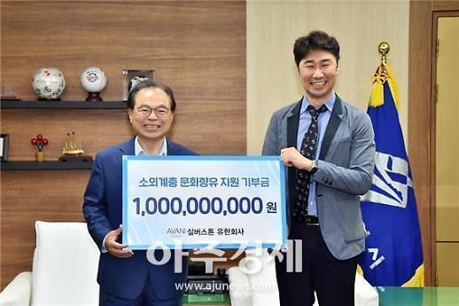 부산 문현혁신지구 시행사 실버스톤 문화진흥기금 10억 쾌척
