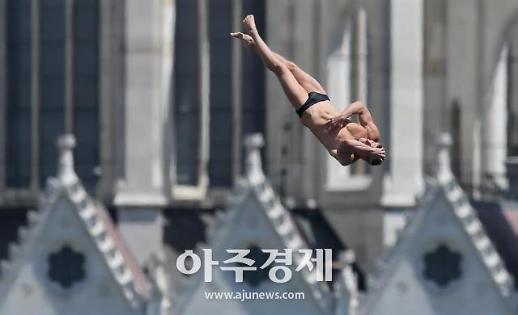 광주세계수영대회 인기 최고종목은 하이다이빙