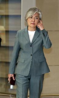 귀국한 康장관, 시진핑 방북에 비핵화 평화구축 도움