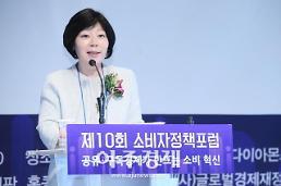 """[2019 소비자정책포럼] 이희숙 한국소비자원장 """"플랫폼 성장 여건 만들되 기업 역할ㆍ…"""