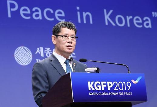 김연철 통일부 장관 합의없는 회담도 의미…북·미 상호 신뢰 더 보여야