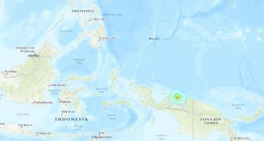 인도네시아서 규모 6.3 강진…피해 보고 없어