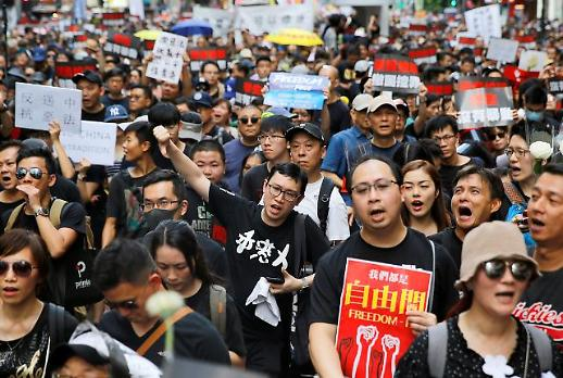 [NNA] 홍콩 학생회, 개정안 철회 불응 시 21일 대규모 시위