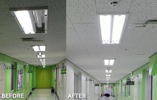 레드밴스, 복지시설에 LED 조명 등 2000개 제품 지원