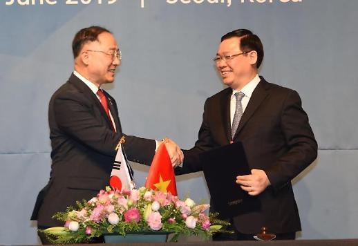 한-베 경제협력, 2인 5각 경제레이스 펼친다