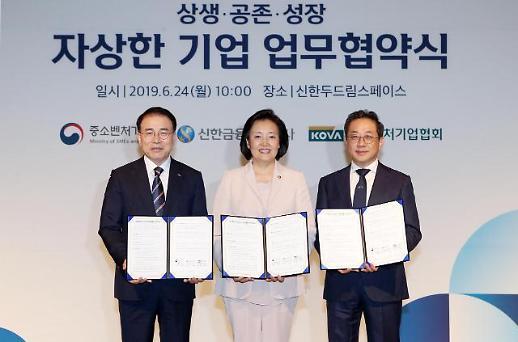 신한금융, '혁신성장 中企' 위해 2000억 지원