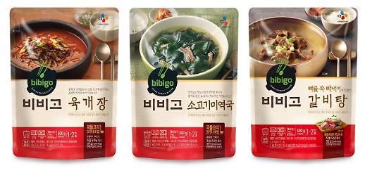 CJ제일제당 비비고, '국·탕·찌개' 1초 한 개씩 팔렸다