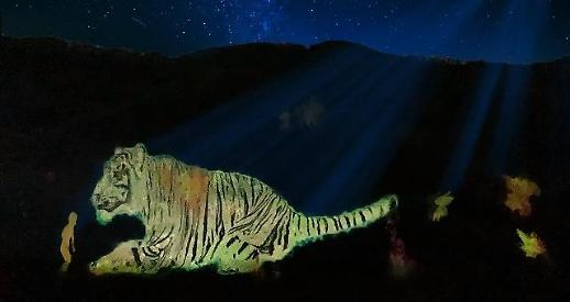 파나소닉코리아, 대명 비발디파크에 세계 최대 마운틴 파사드 선보여