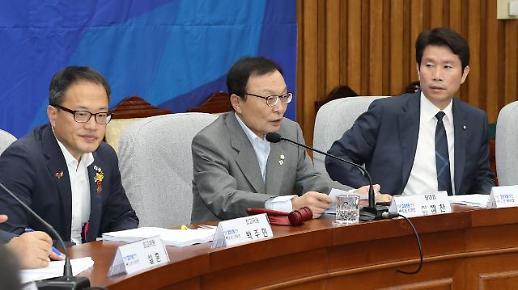 이해찬 3당 원내대표 합의 무너뜨린 한국당…존재할 이유있나