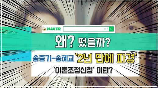 [영상] '2년 만에 파경' 송중기가 송혜교 상대로 제기한 '이혼조정신청'이란?