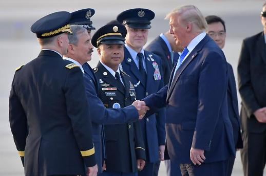 트럼프, 한국 도착…내일 文대통령 회담·김정은 DMZ만남 주목