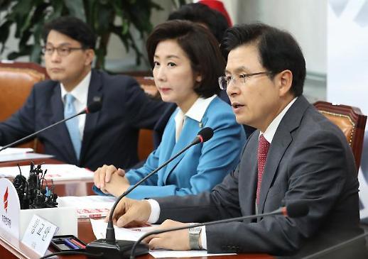 황교안 한국당, 싸워 이기는 정당으로 가고있다