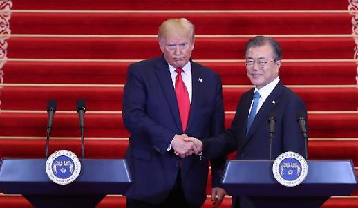 [일문일답] 문재인대통령·트럼프 대통령 공동기자회견