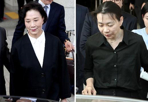 '필리핀 가정부 불법고용' 이명희·조현아 모녀 오늘 1심 선고