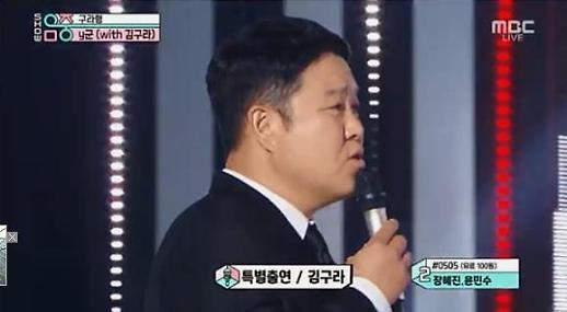 쇼! 음악중심서 김구라, Y군에 뭘 하려면 상의를 하고 해 특별 무대 독설
