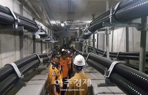 과천소방, 지하전력구 현장대응훈련 펼쳐