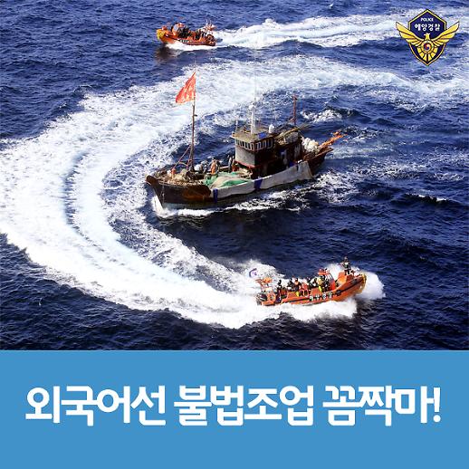 상반기 외국어선 불법조업율 2.4%p 감소