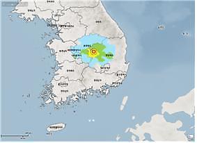 """소방청 """"지진 유감신고 276건 접수…피해신고는 없어"""""""