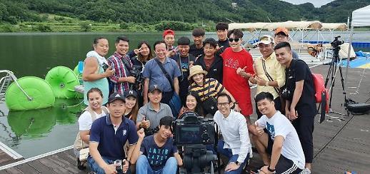 베트남 국영방송 VTV2, 상주서 '여행의 발견' 촬영