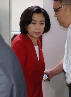 한국당, 국토위원장 사퇴 거부 박순자 당원권 정지 6개월 징계