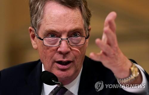 미중 고위급 무역협상, 내주 상하이서 재개..美대표단 29일 중국행