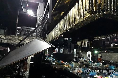 '불법증축' 광주 클럽 붕괴로 2명 사망·16명 부상(종합 2보)