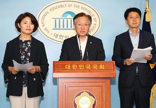 與일본특위 日 백색국가 제외 지연될듯…한국당 특위와는 실무적 접촉