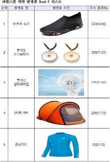 여름휴가 최고의 발명품은 아쿠아 슈즈…2위 휴대용 모기퇴치기·3위 핸디에어컨