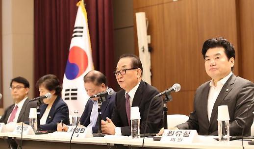 문전박대 외교 참사 속 韓日 의원단, 심각한 상황 공감
