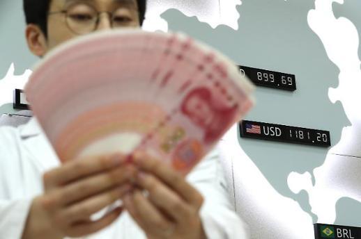 중국 환율조작국 지정…원·달러 환율 당분간 1200원대