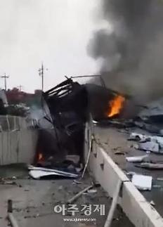 [영상] 안성 화재로 소방관 1명 사망…관계자 등 10명 부상