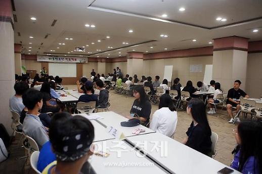 강원랜드 복지재단, 폐광지역 4개 시·군 청소년 대상 진로캠프 개최